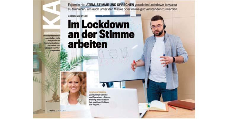 Stimmtraining im Lockdown